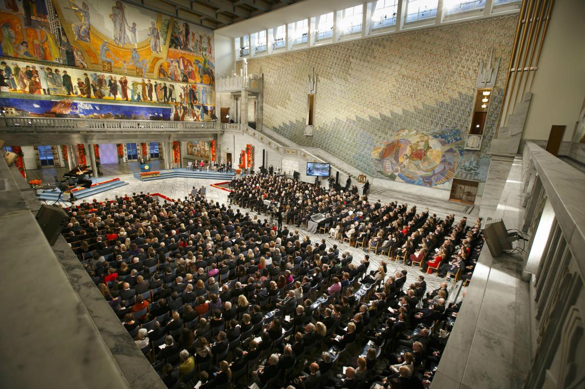Ceremoniál předávání Nobelových cen