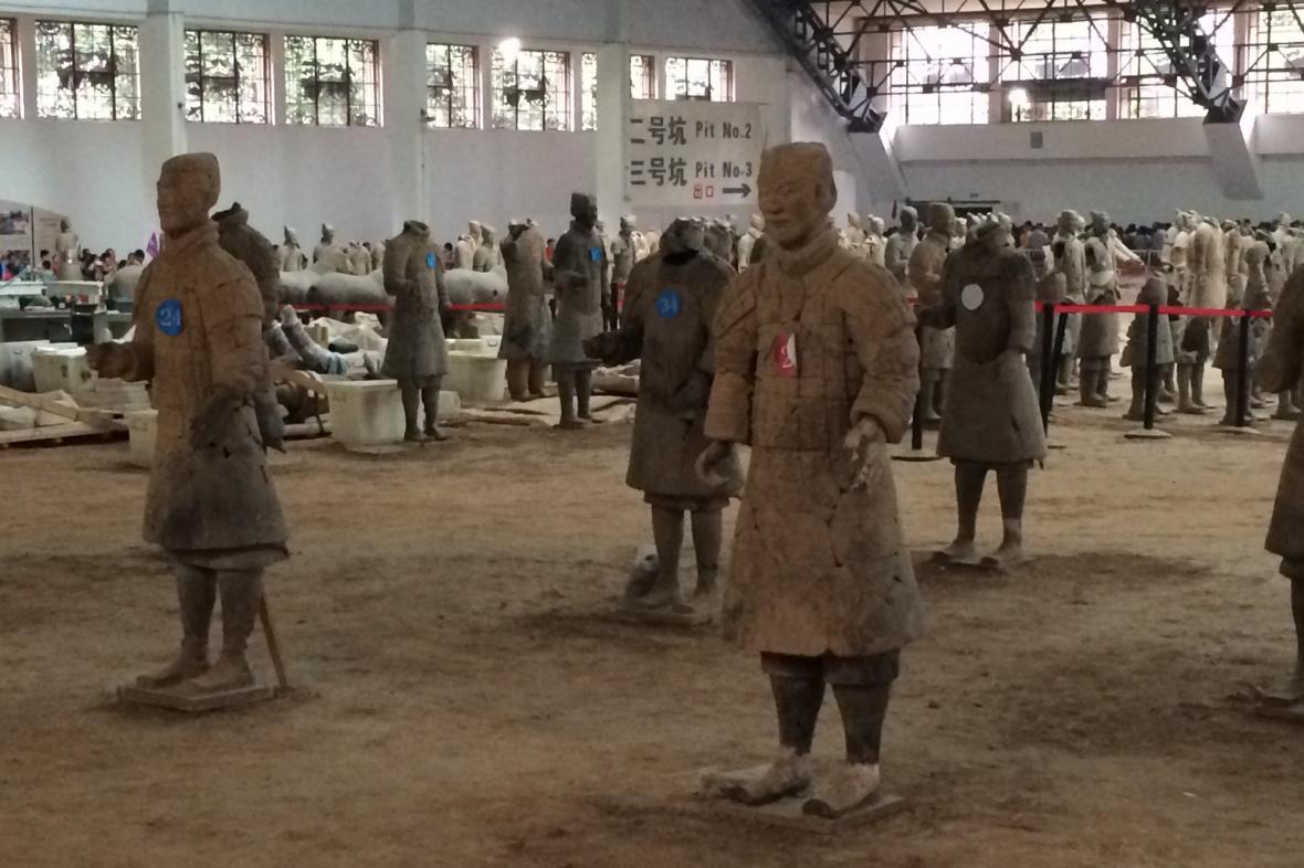 Mlčenliví strážci velkého císaře