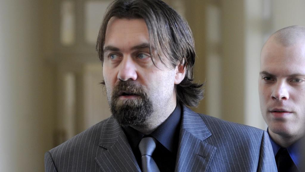 Obžalovaný Marek Jaroch u soudu