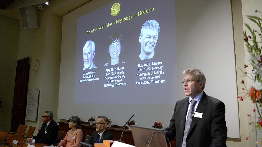 Karolínský institut ve Stockholmu oznamuje laureáty NC za lékařství