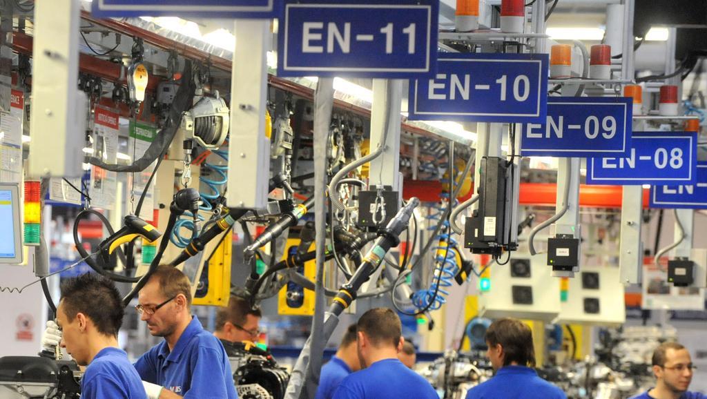 Provoz v továrně