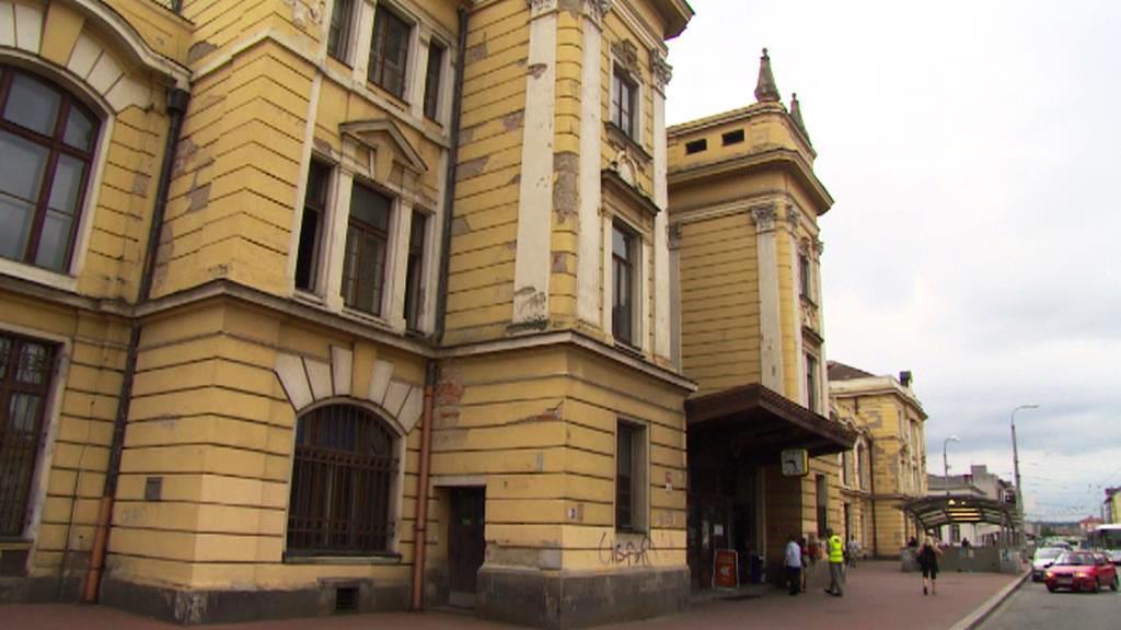 Nádraží v Českých Budějovicích