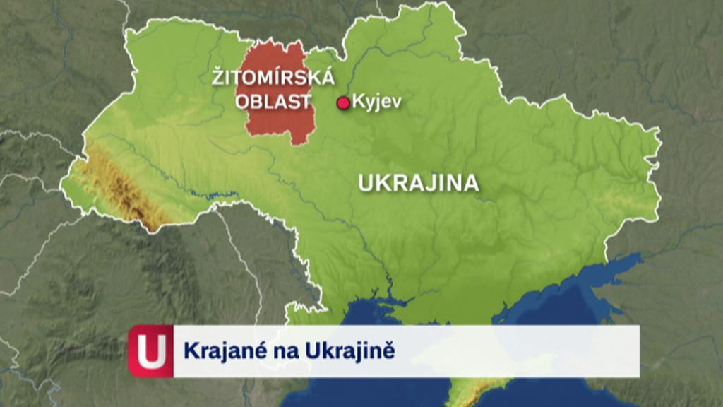 Žitomírská oblast na Ukrajině