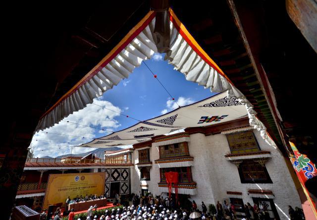 Festival se poprvé konal v samotném Tibetu