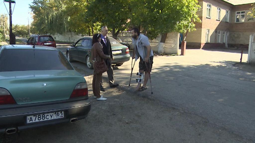 Vasilij se zranil při bojích u Luhansku