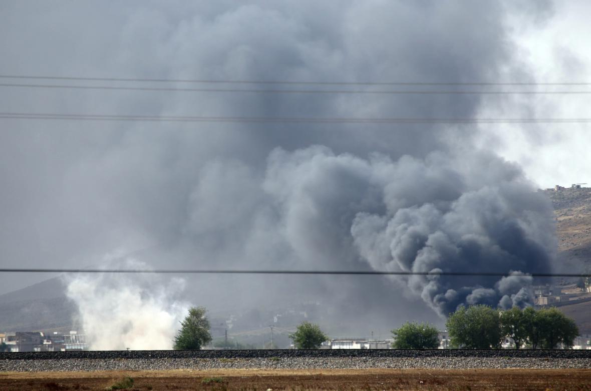 Boje u Kobani