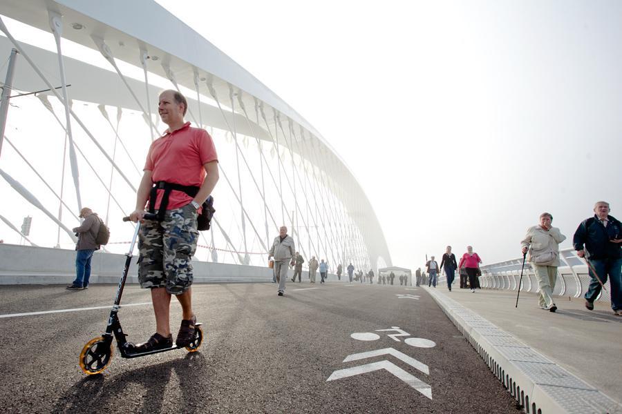 Den otevřených dveří na Trojském mostě