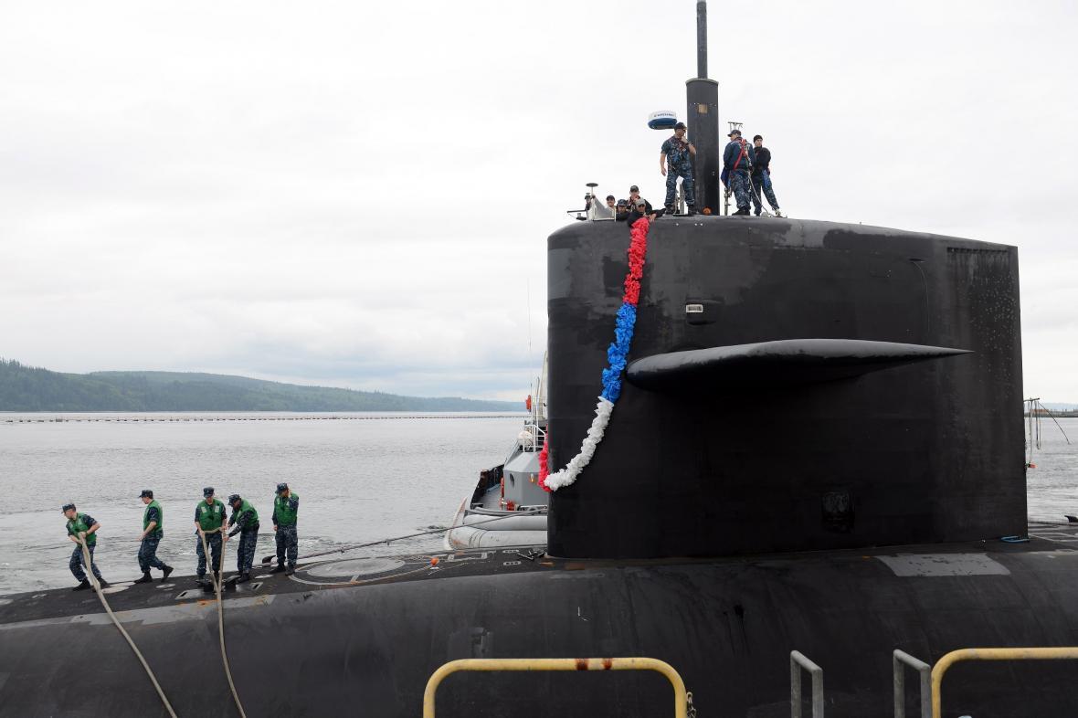 Americká jaderná ponorka USS Pennsylvania