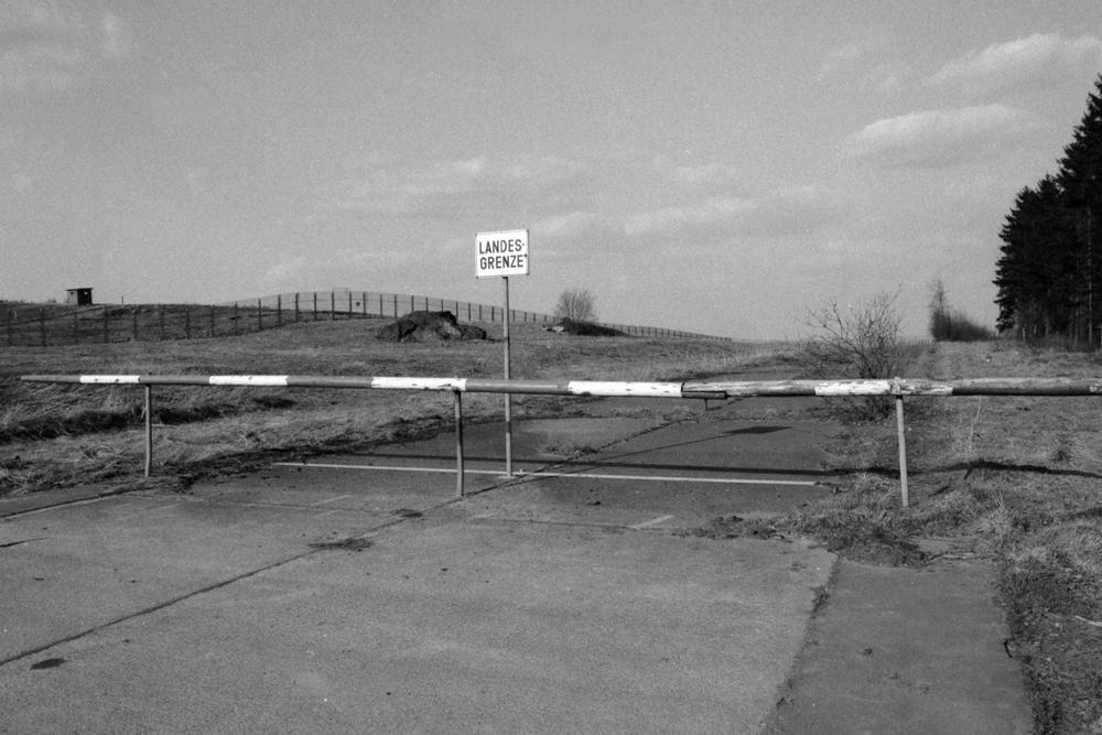 Vnitroněmecká hranice, Plauen (minulost)