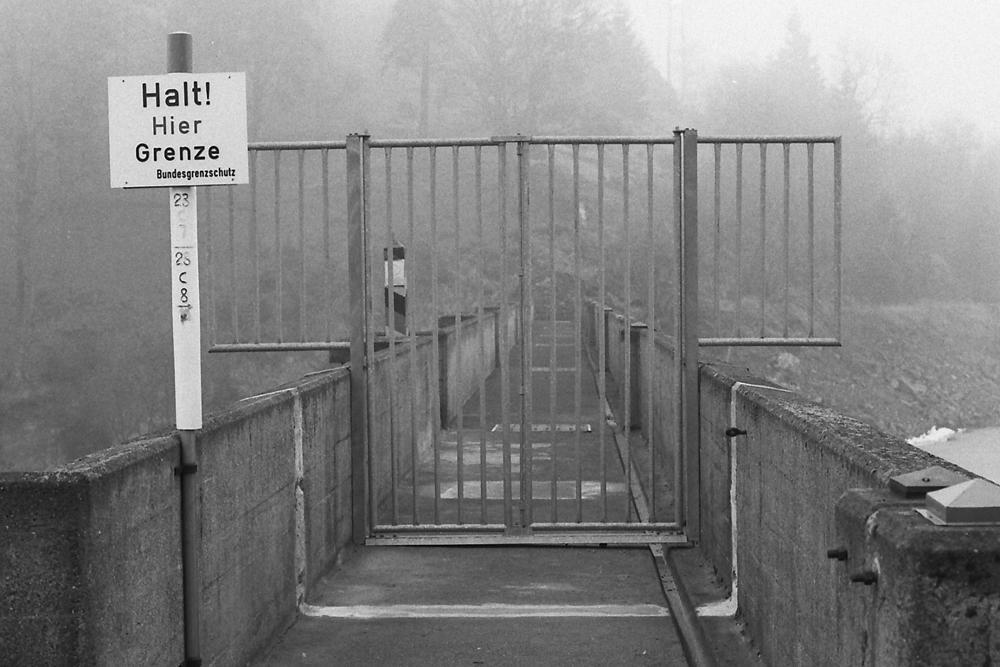 Vnitroněmecká hranice, Eckertalsperre (minulost)