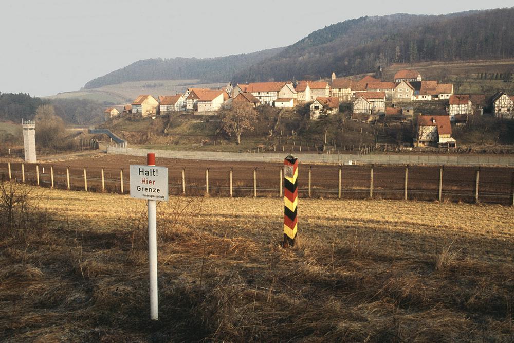 Vnitroněmecká hranice, Asbach (minulost)
