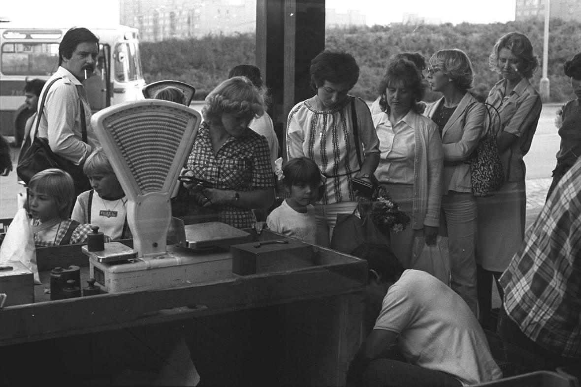 Sídliště Jižní Město na počátku 80. let