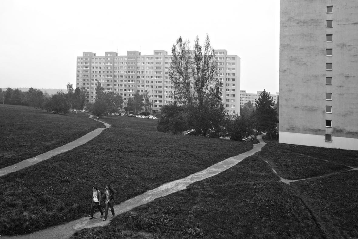 Sídliště Jižní Město v roce 2014