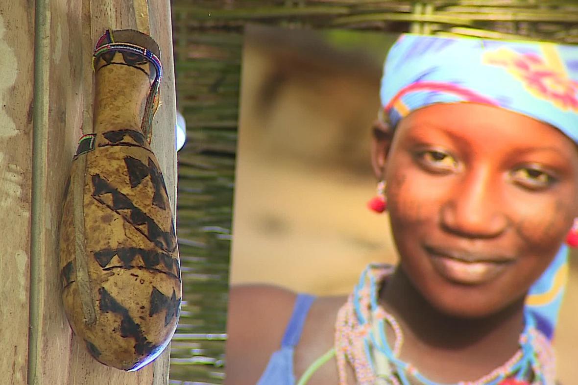Africká vesnice Samburu v ZOO Brno