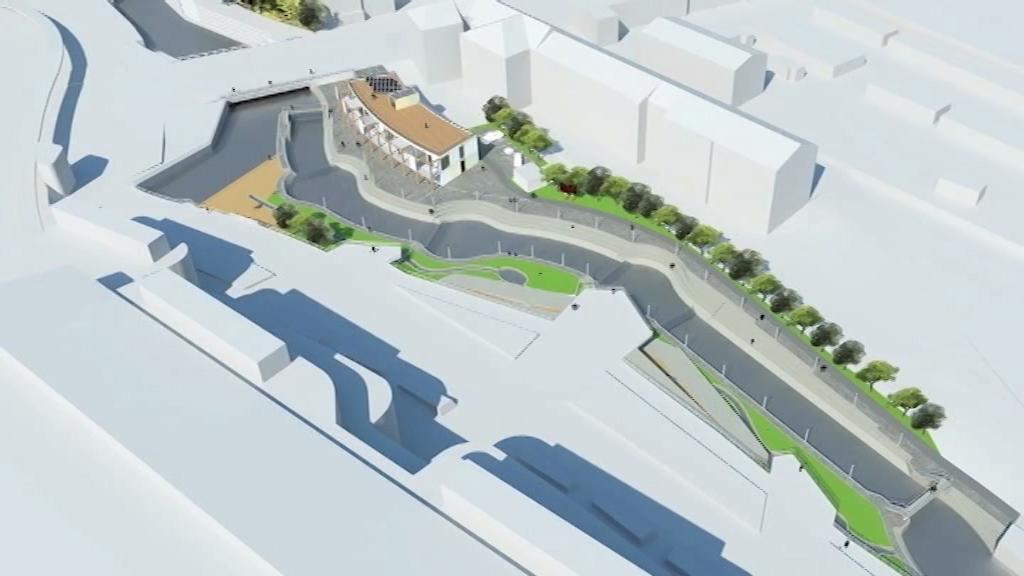 Vodáci chtějí postavit umělý kanál v centru Olomouce.