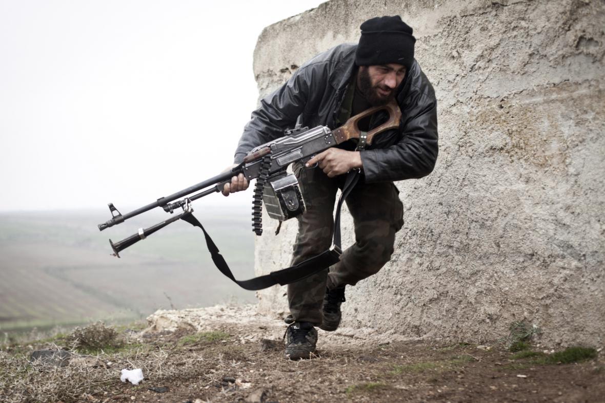 Člen Syrské svobodné armády
