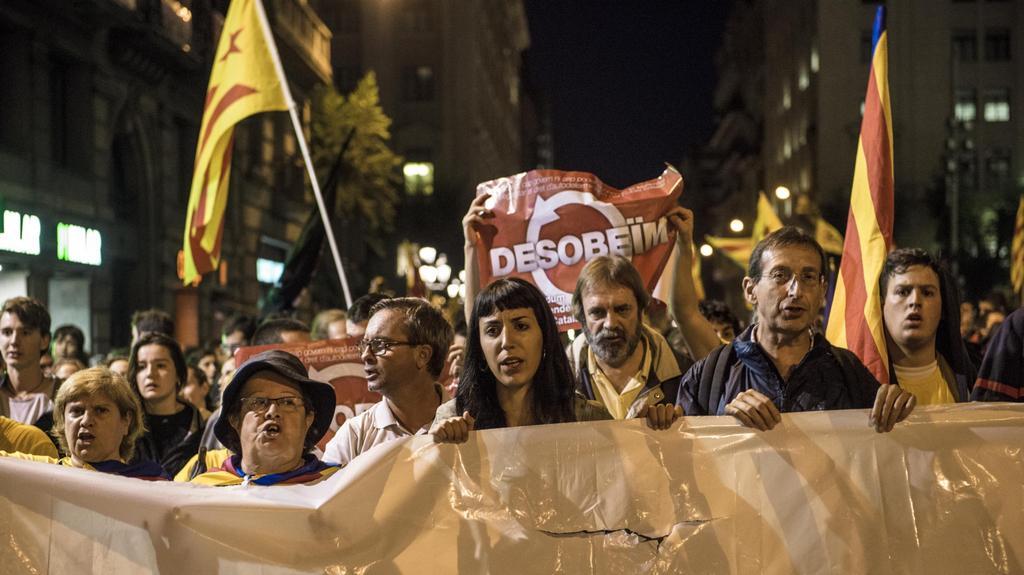Demonstrace za konání referenda