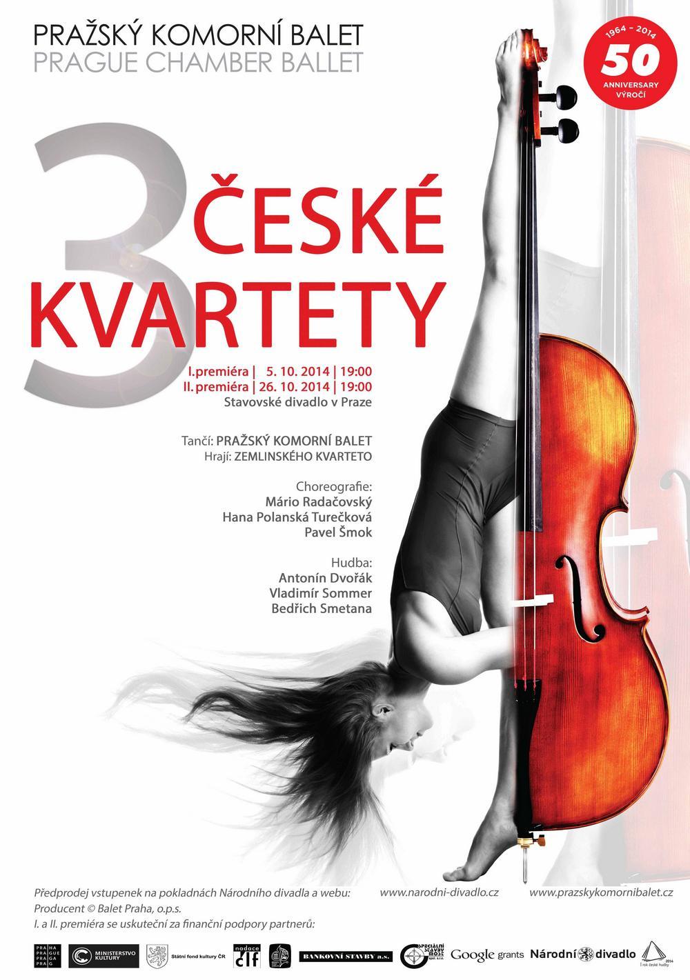 3 české kvartety
