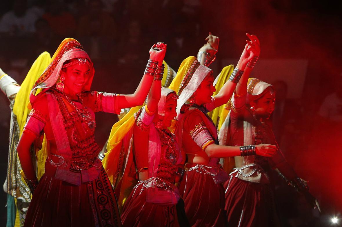 Představení v Madison Square Garden pro indického premiéra