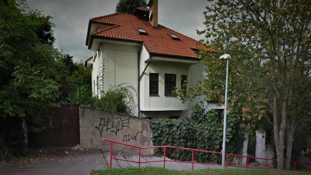 Vila Blanky Matragi před demolicí