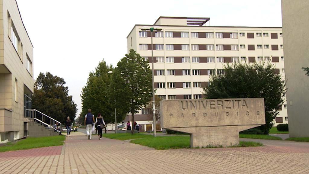 Areál pardubické univerzity