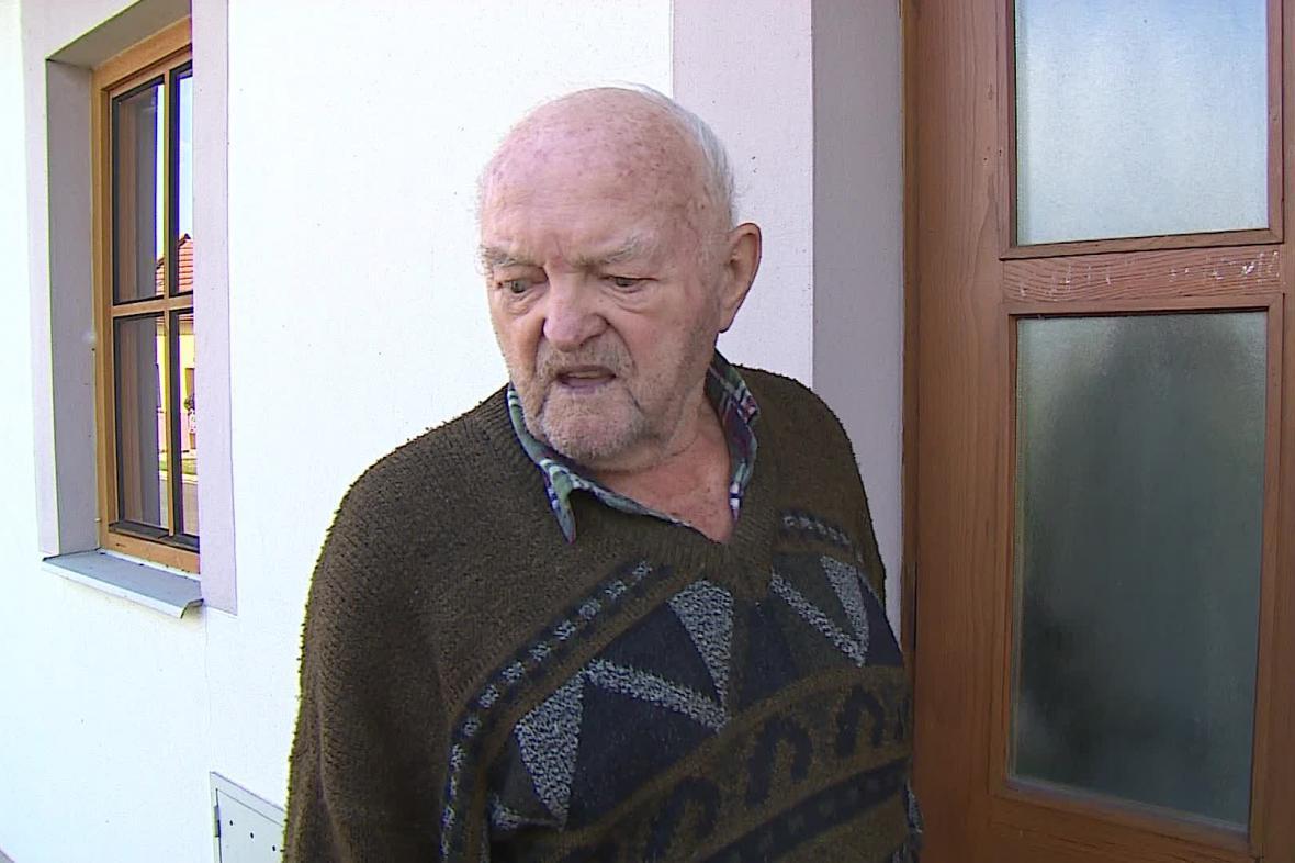Jaroslav Jakubec při povodni v roce 1997 přišel o dům