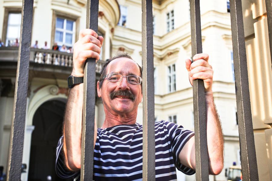 Bývalý uprchlík z NDR Werner Tetmeyer