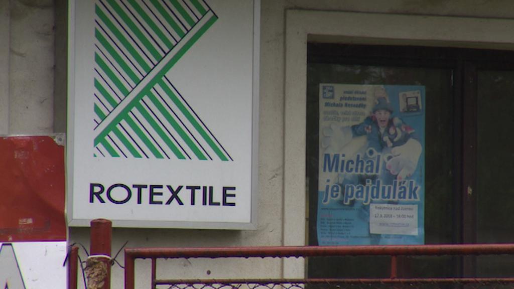 Bývalá textilka v Rokytnici nad Jizerou