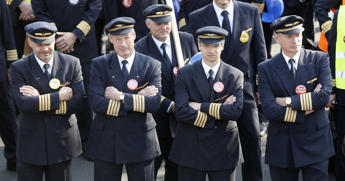 Stávka pilotů německé Lufthansy