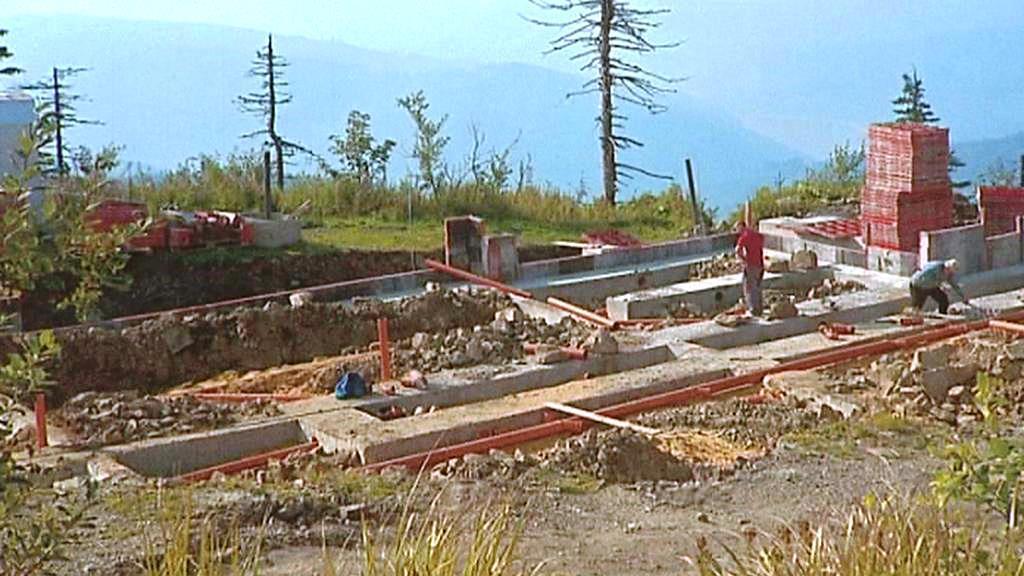 Obnova Bezručovy chaty na Lysé hoře