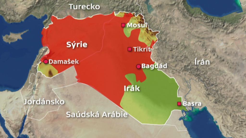 Islámští radikálové v Iráku a Sýrii