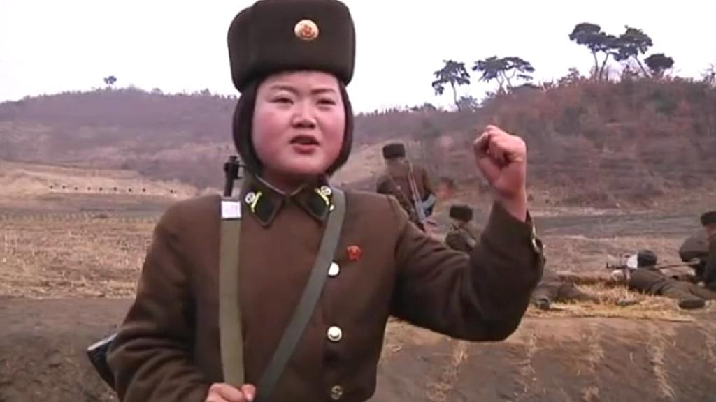Severokorejská vojačka