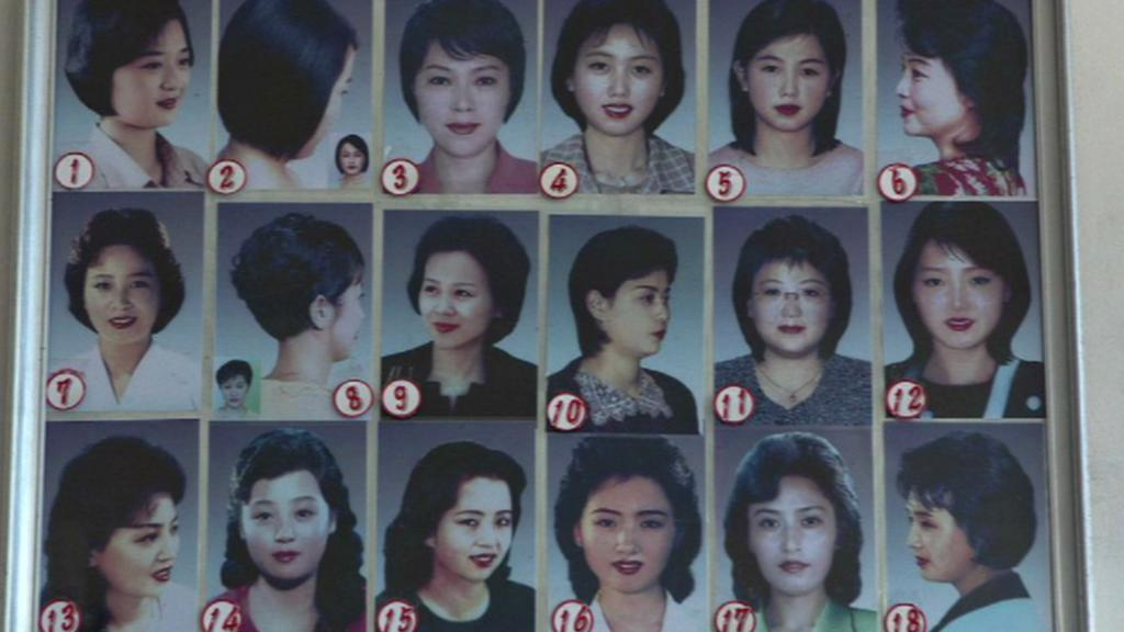 Přehled povolených účesů žen v KLDR