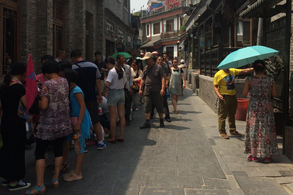 Staré město v Pekingu vyzařuje velké kouzlo