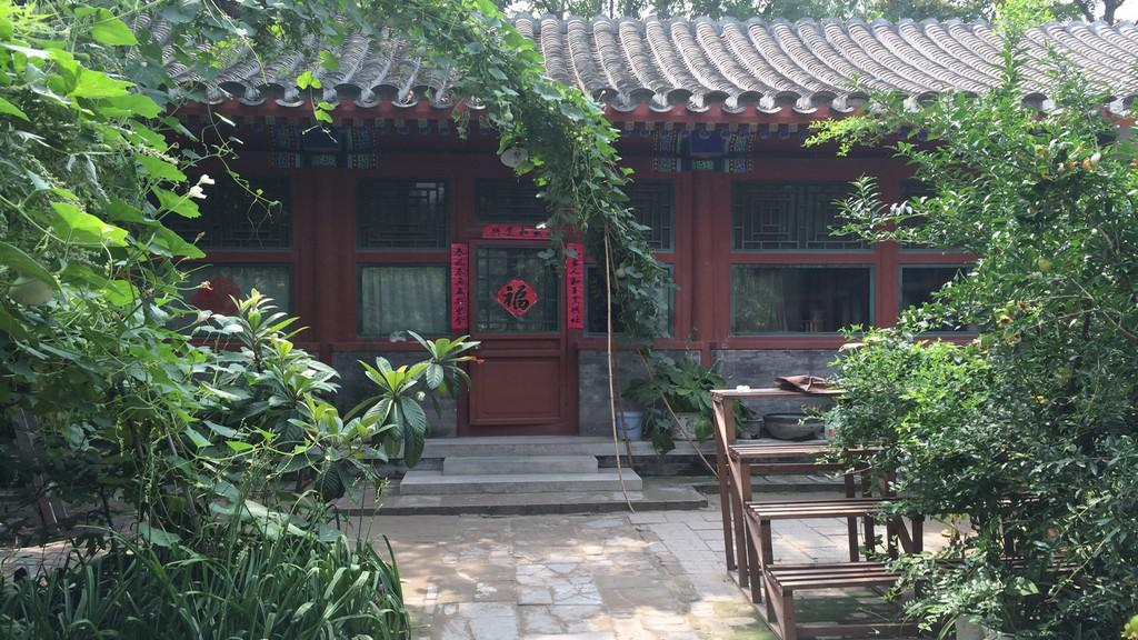 Charakteristická zástavba starého Pekingu