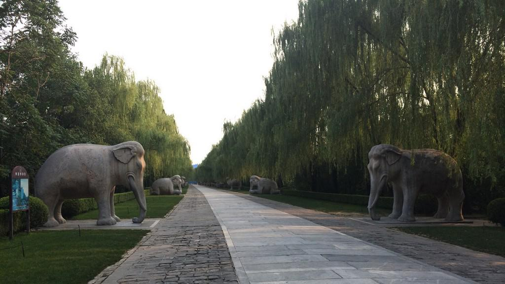 Slon je v Číně jedním ze symbolů štěstí