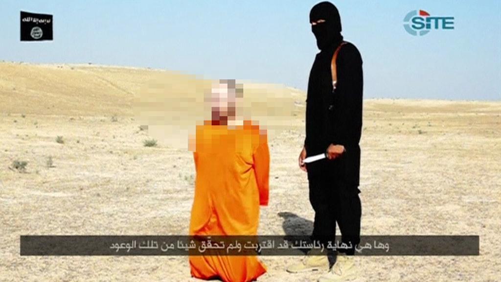 Video s uneseným novinářem Sotloffem