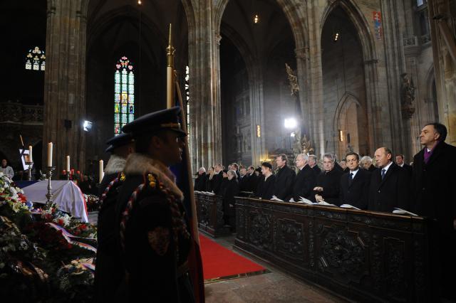 Státní pohřeb Václava Havla