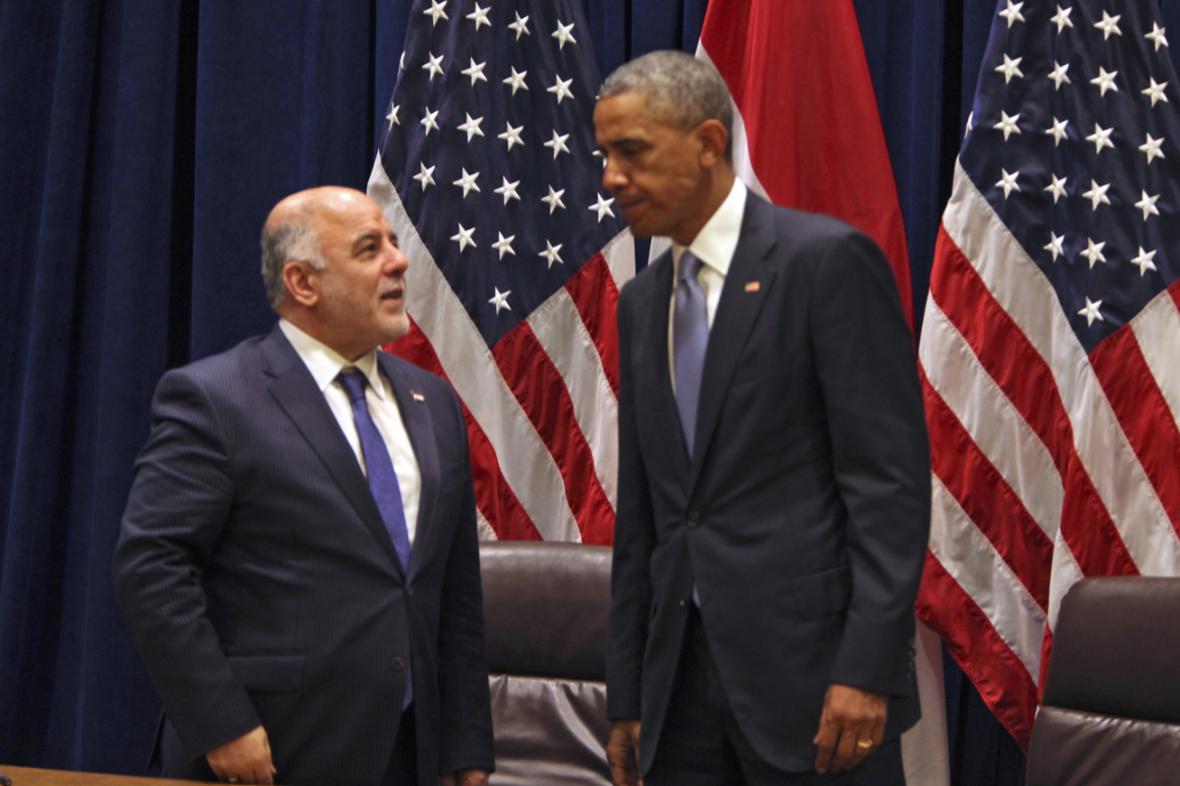 Barack Obama se v OSN sešel s iráckým premiérem Hajdarem Abádím