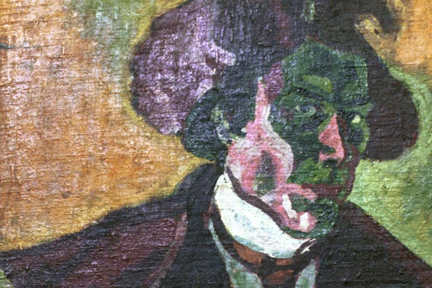 Bohumil Kubišta / Autoportrét