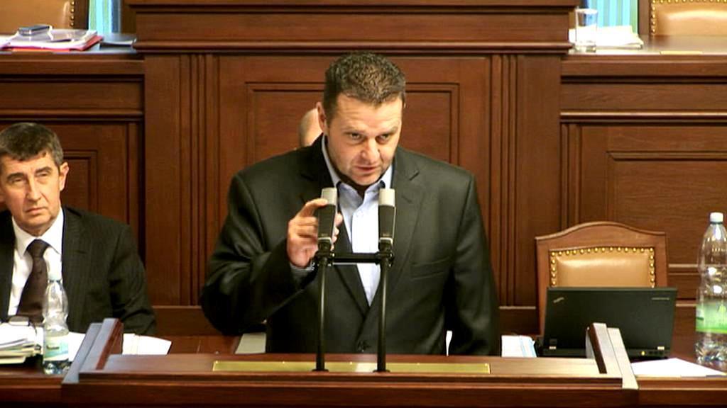 Poslanec KSČM Zdeněk Ondráček