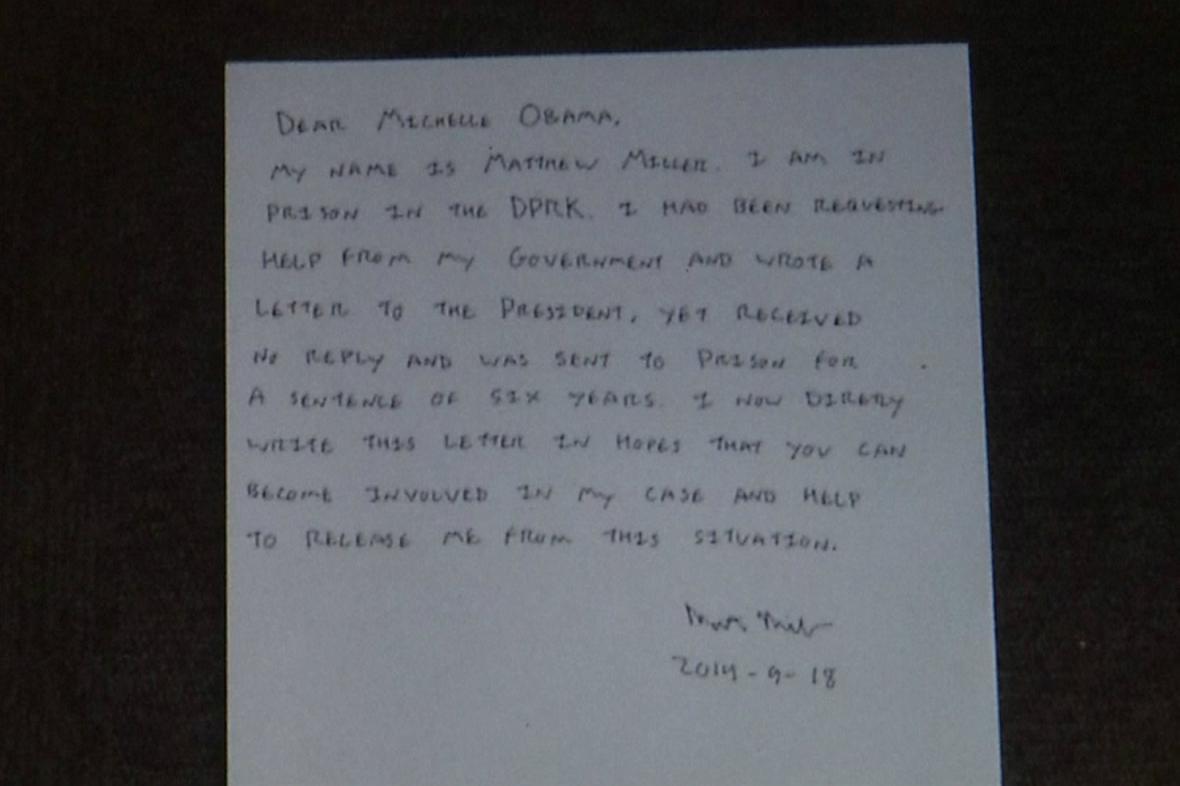 Matthew Miller žádá o pomoc i americkou první dámu