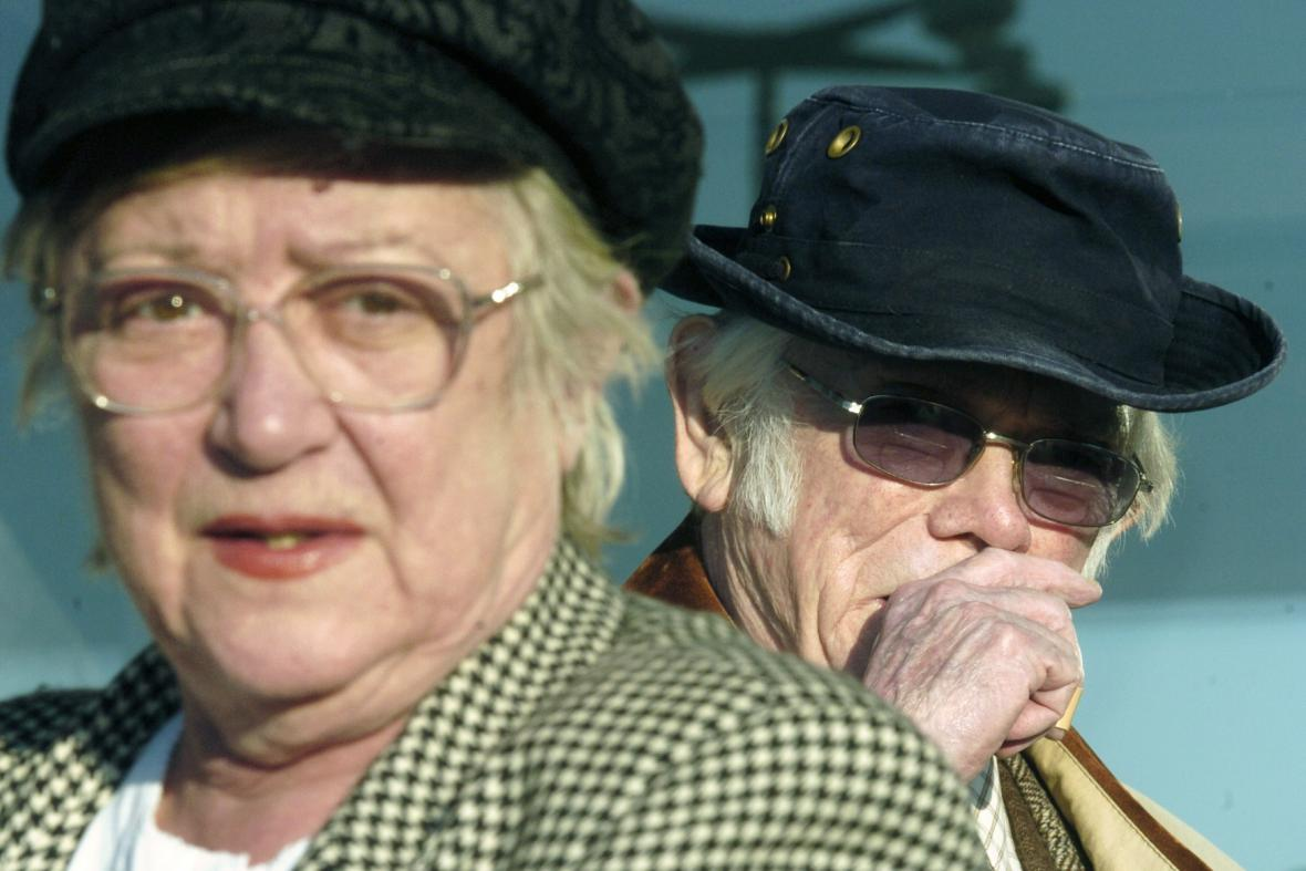 Zdena Salivarová a Josef Škvorecký