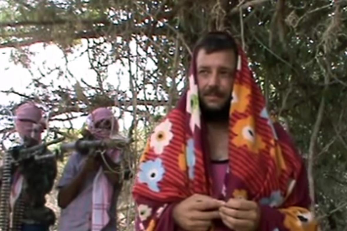 Michael Scott Moore v zajetí somálských pirátů
