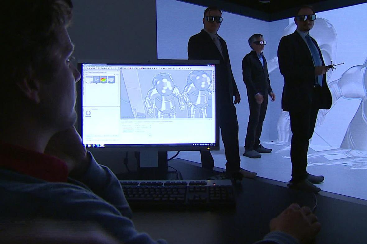 3D projekce