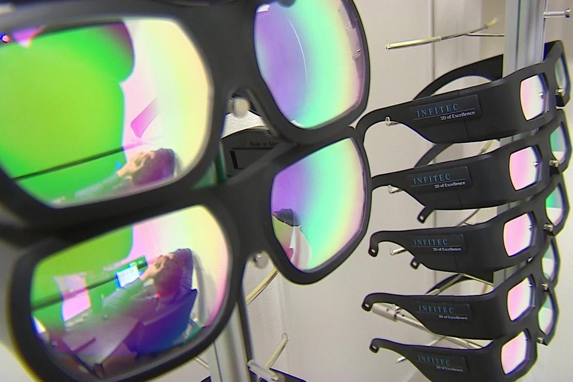 Brýle pro 3D vidění