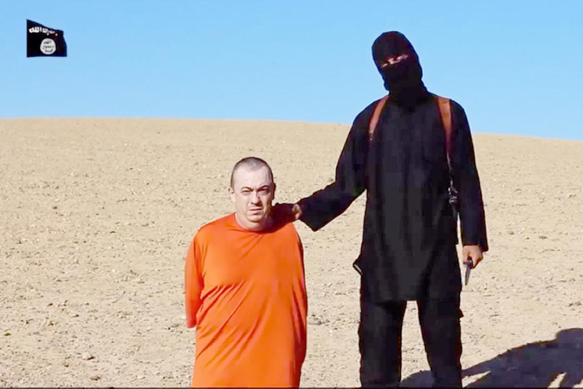Alan Henning zadržovaný islamisty v Sýrii