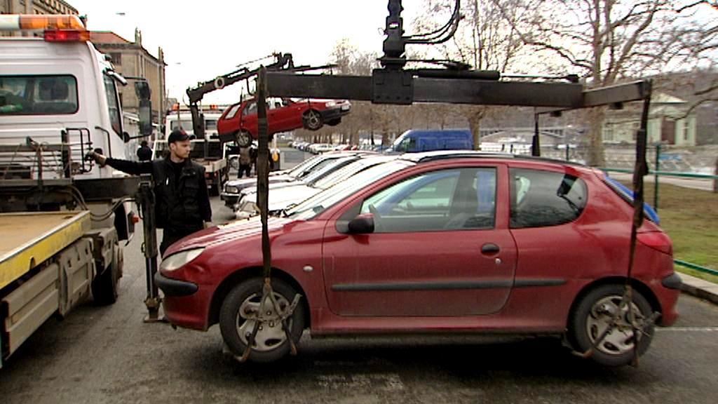 Odtahování vozidel