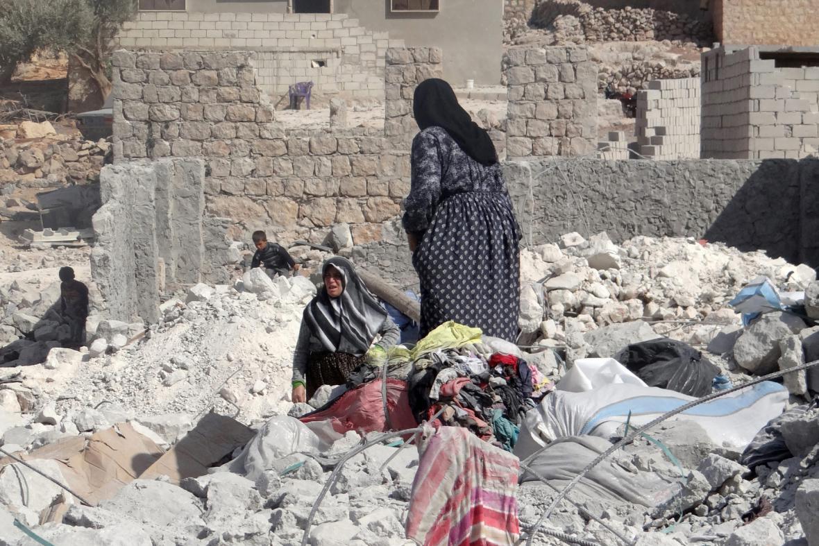 Následky leteckých úderů USA proti Islámskému státu