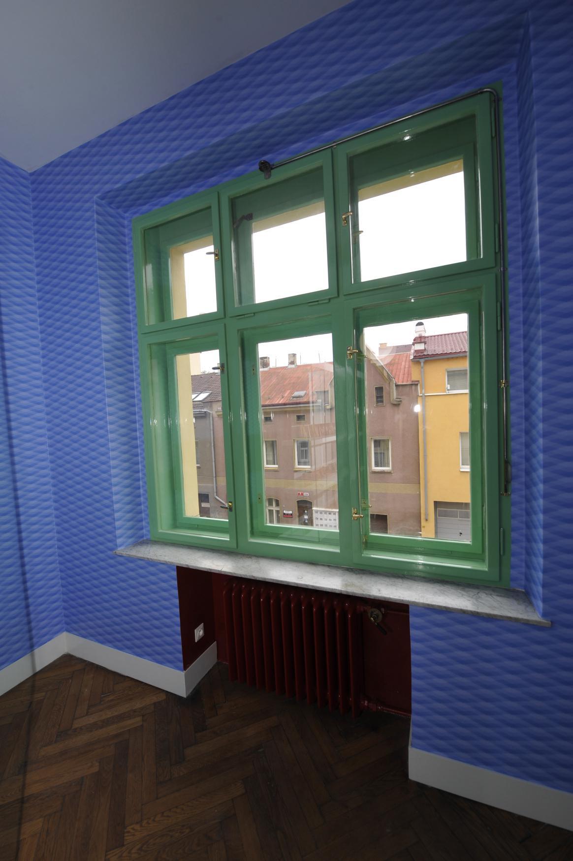 Bývalý byt Viléma Krause